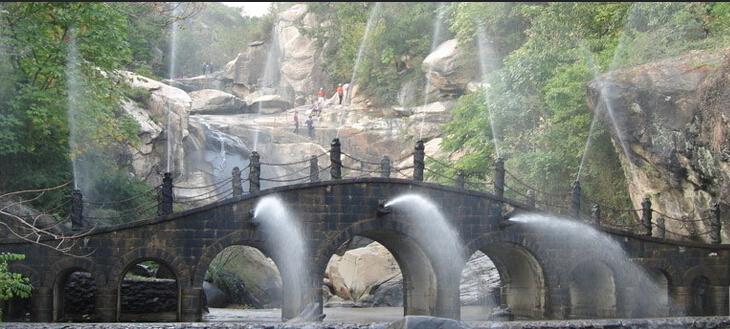 渔湾风景区 来这里看瀑布,峭壁,怪石