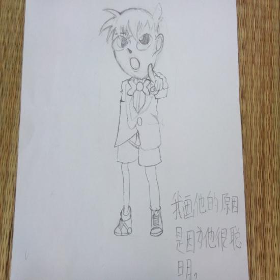 淮海工学院大学生志愿者组织小学生举办卡通绘画比赛
